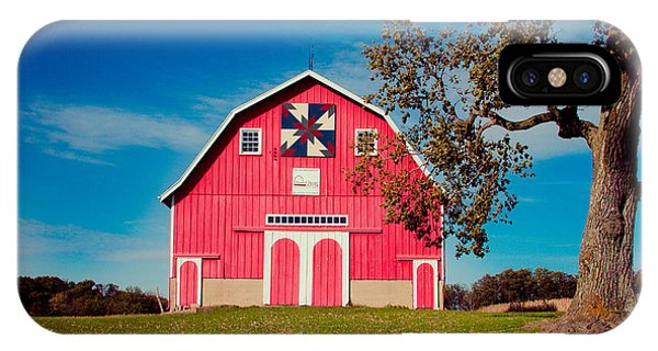 Dutch Colonial Quilt Barn 2 IPhone Case