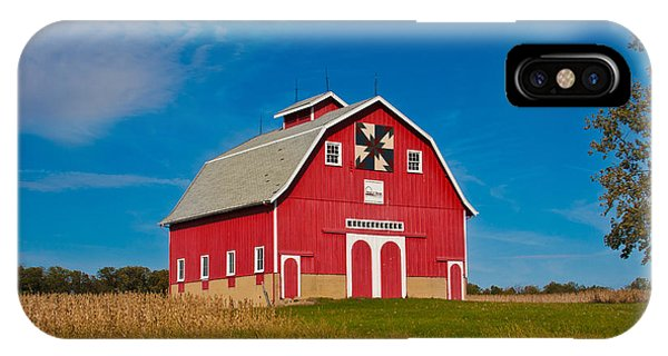 Dutch Colonial Quilt Barn IPhone Case