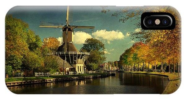 Dutch Windmill IPhone Case