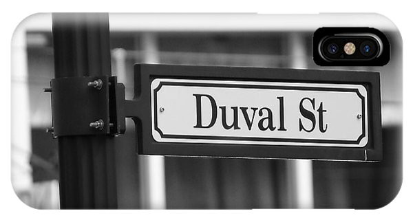 Duval Street IPhone Case