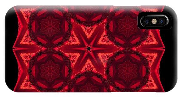 Dying Amaryllis IIi Flower Mandala IPhone Case