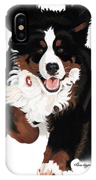 Pup iPhone Case - Dylan Rocks by Liane Weyers