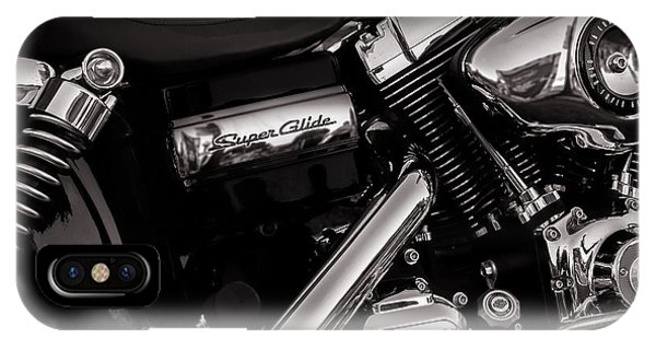 IPhone Case featuring the photograph Dyna Super Glide Custom by Bob Orsillo