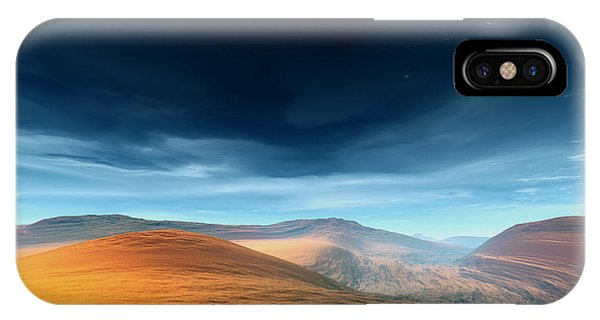 Dynamic Desert Phone Case by Jean Paul Thierevere