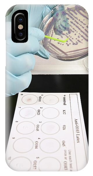 E. Coli Stec Bacterial Test Phone Case by Peggy Greb/us Department Of Agriculture