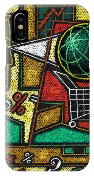 Finance iPhone Case - E-commerce by Leon Zernitsky