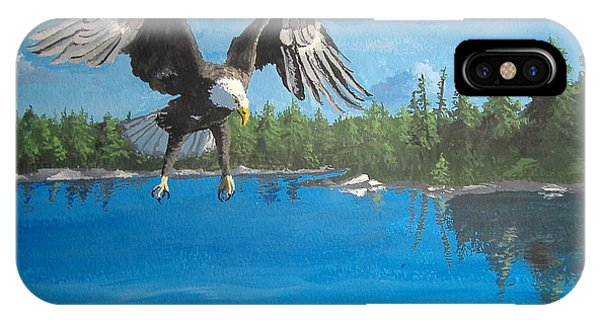 Eagle Attack IPhone Case