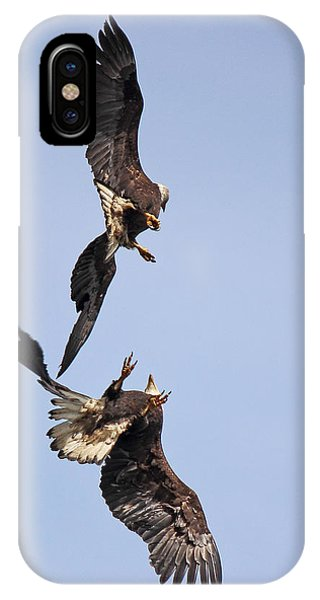 Eagle Ballet IPhone Case