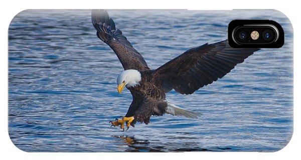 Eagle Fishing IPhone Case