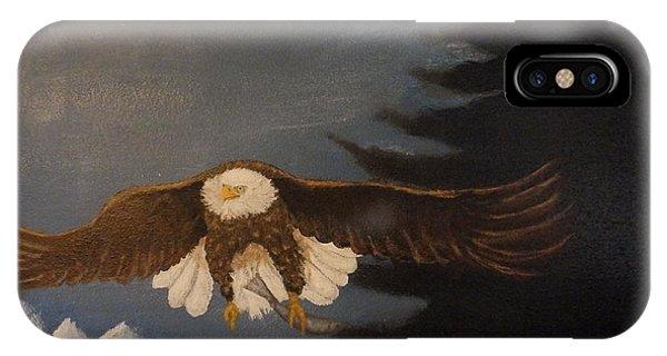 Eagle Flying IPhone Case