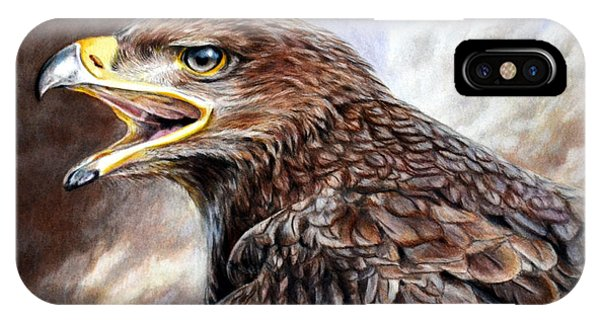 Eagle Cry IPhone Case