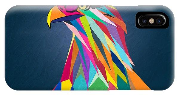 Winter Fun iPhone Case - Eagle by Mark Ashkenazi
