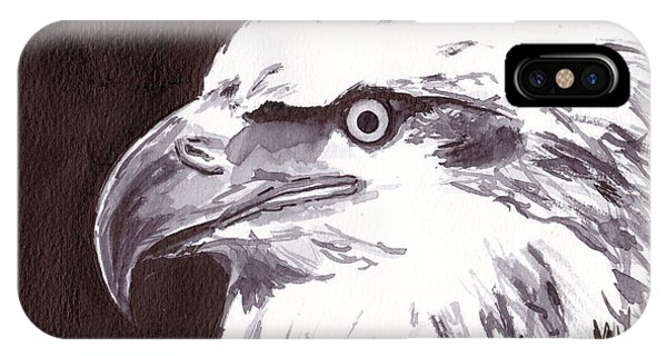 iPhone Case - Eagle by Michael Rados