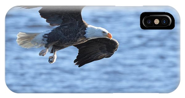 Eagle On The Mississippi IPhone Case