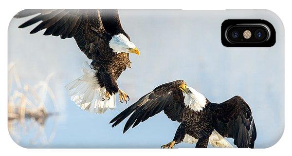 Eagle Showdown IPhone Case