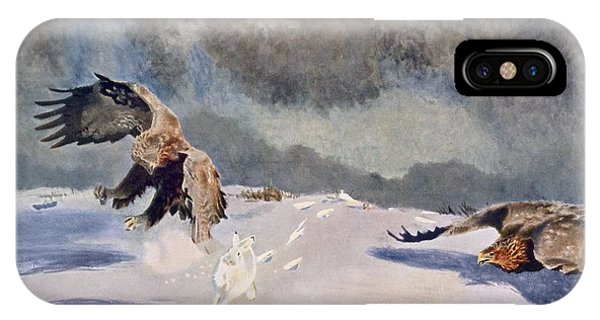 Eagles And Rabbit, 1922 IPhone Case