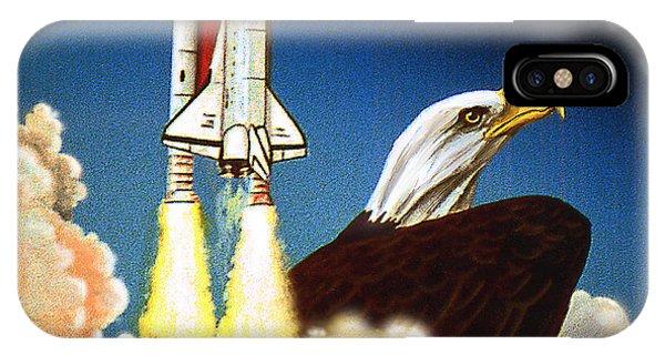 Da165 Eagle's Flight By Daniel Adams IPhone Case