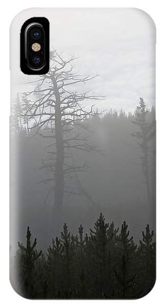 Eagle's Nest In Fog IPhone Case