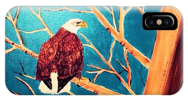 Eagles Perch IPhone Case