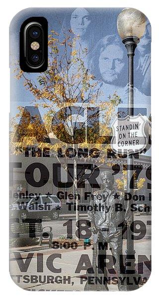Eagles The Long Run Tour IPhone Case
