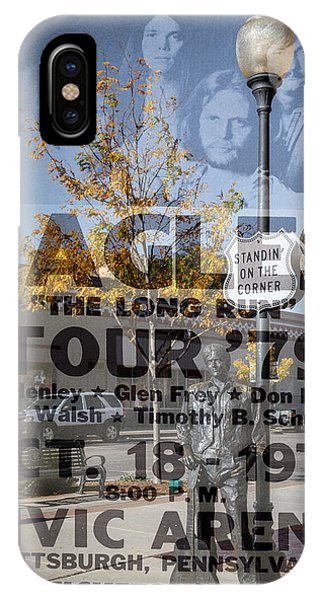 Eagles The Long Run Tour IPhone Case