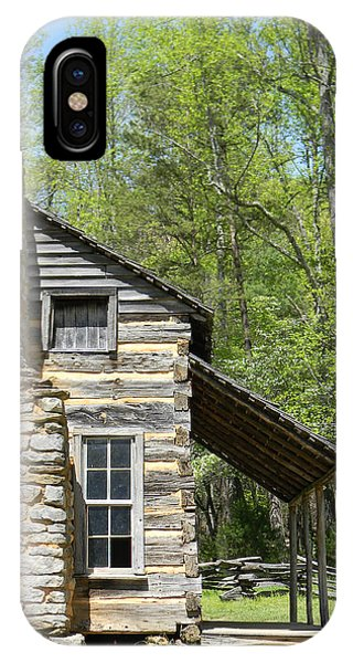 Early Appalachian Home IPhone Case