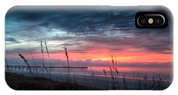 Early At The Beach IPhone Case