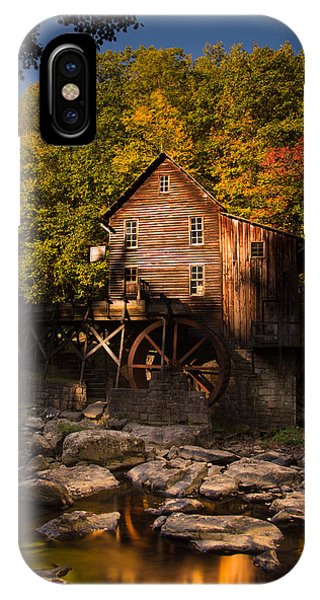 Early Autumn At Glade Creek Grist Mill IPhone Case