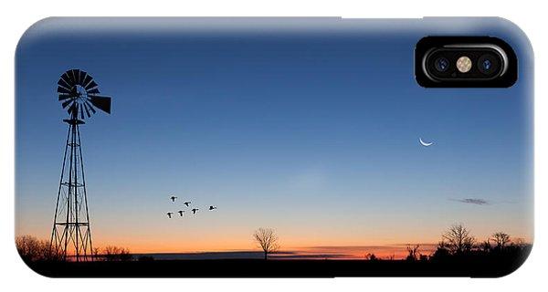 Sunrise iPhone Case - Early Birds by Bill Wakeley