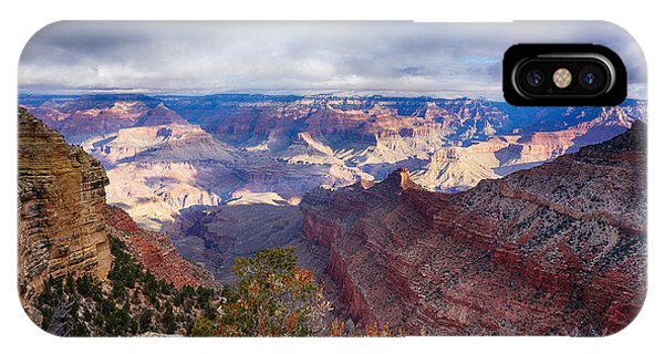 Early Clouds Over Hopi Point IPhone Case