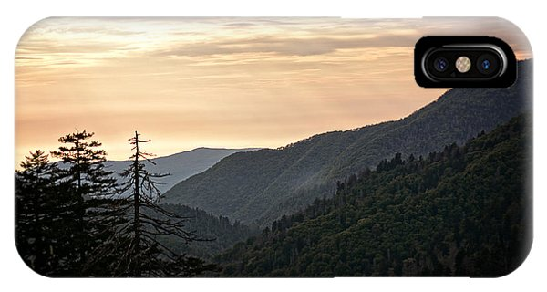Early Evening In The Smokey Mountains IPhone Case
