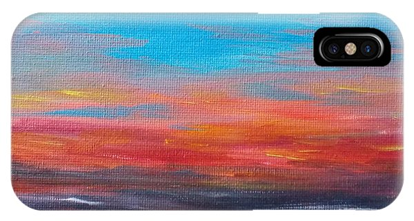 Early Evening Sky IPhone Case