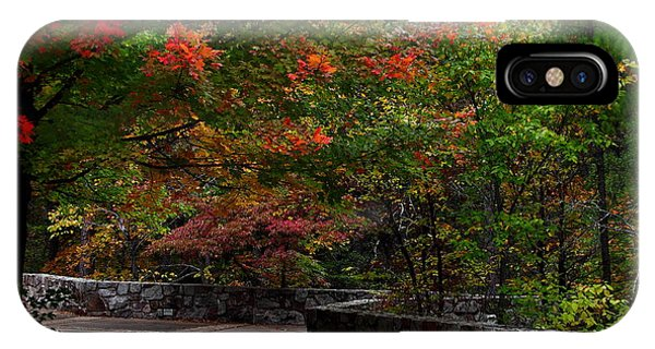 Early Fall At Talimena Park IPhone Case