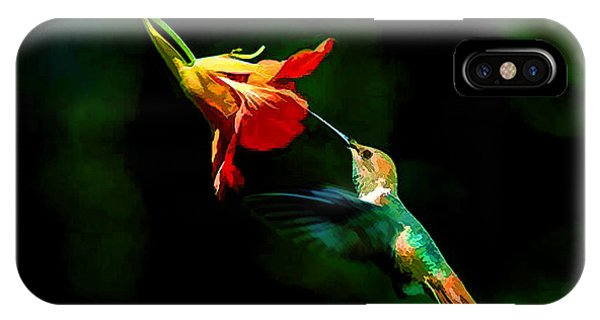 Early Hummingbird IPhone Case