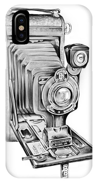Cameras iPhone Case - Early Kodak Camera by Greg Joens