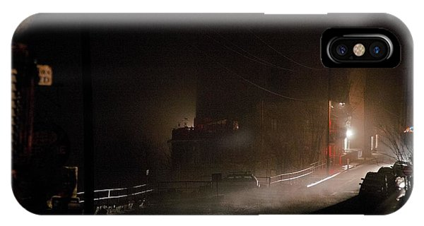 Early Misty Morning In Jerome Az IPhone Case
