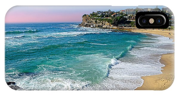 Early Morning Bronte Beach By Kaye Menner IPhone Case