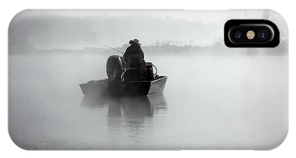Early Morning Fishing IPhone Case