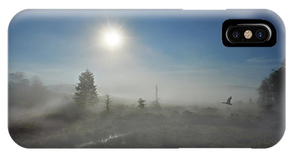 IPhone Case featuring the photograph Early Morning Fog At Canaan Valley by Dan Friend