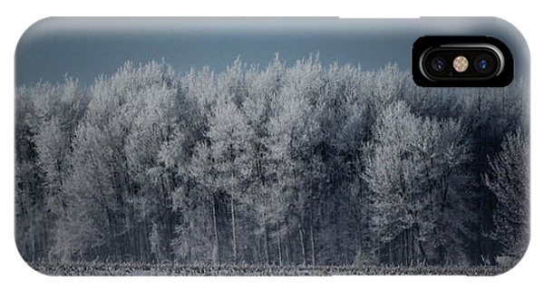 Early Morning Frost IPhone Case