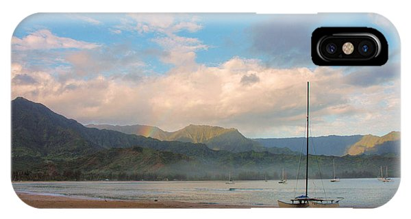 Early Morning - Hanalei Bay IPhone Case