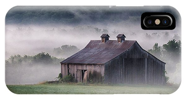 Early Morning In The Mist Standard IPhone Case