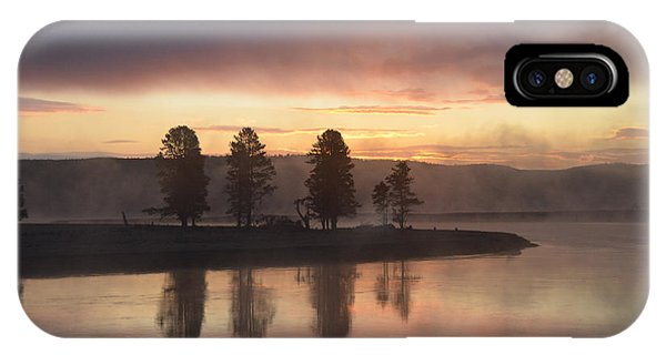 Early Morning In The Valley IPhone Case