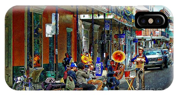 Early Morning Jazz In New Orleans IPhone Case