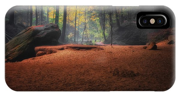 Early Morning Light At Ash Cave IPhone Case