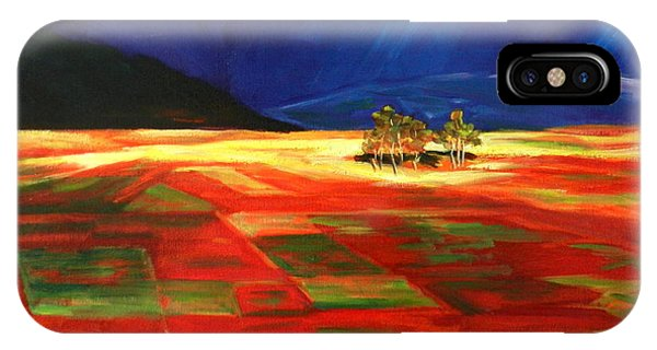 Early Morning Light, Peru Impression IPhone Case