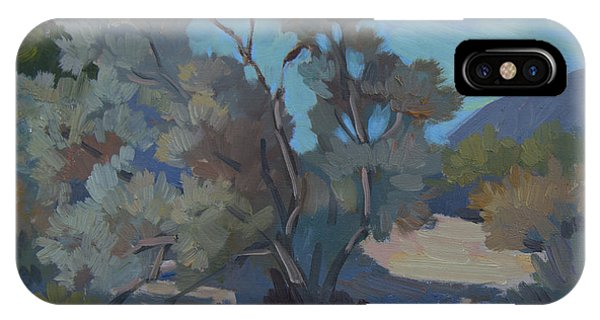 Early Morning Light Smoke Tree IPhone Case
