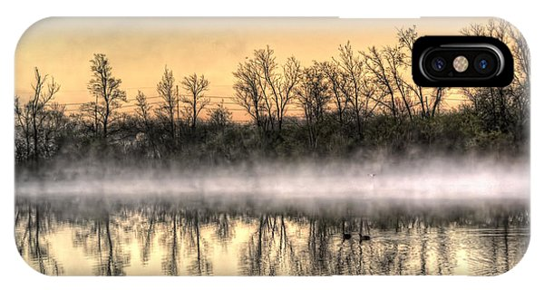 Early Morning Mist IPhone Case