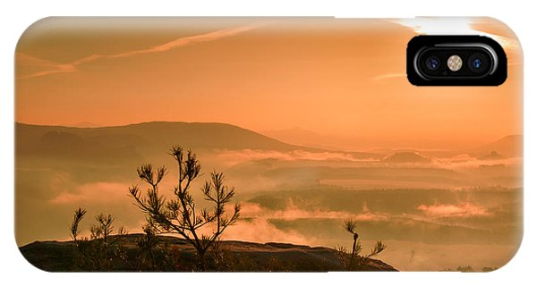 Early Morning On The Lilienstein IPhone Case