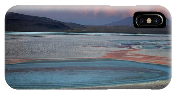 Laguna Colorada - Early Morning Pink IPhone Case